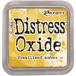 DISTRESS OXIDE тампон - FOSSILIZED AMBER