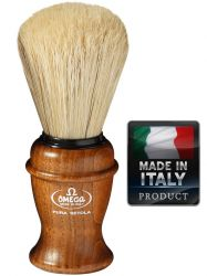 OMEGA 11137 Pure bristle shaving brush 113mm
