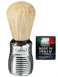 OMEGA 10081 Pure bristle shaving brush 109mm