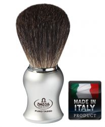 Omega 6229 Black Badger shaving brush 105mm