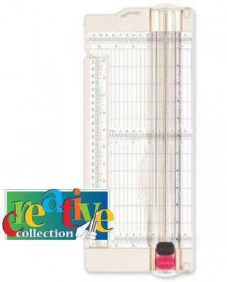 "CREATIVE paper trimmer + scoring • 30,5x11,4cm - 12x4,5"" - Крафт тример A3 Реже и бигова"
