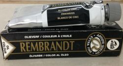 REMBRANDT OIL 150ml  - Екстра Фина маслена боя 104 / БЯЛА ЦИНК