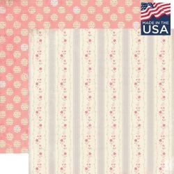 AUTHENTIQUE USA # SPECIAL 12 X 12  - Дизайнерски скрапбукинг картон 30,5 х 30,5 см.