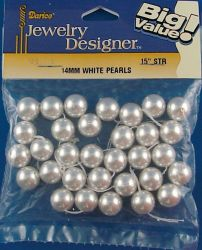 PEARLS Japanese 12 mm. +/- 32 pcs.