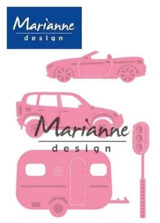 AUTO Marianne Design DIES - Щанци за рязане, ембос COL1435