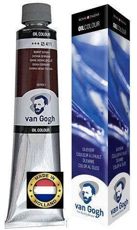 VAN GOGH OIL - Маслена боя 200 мл. - BURNT SIENNA / 411