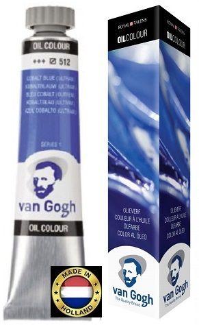 VAN GOGH OIL - Маслена боя 200 мл. - COBALT BLUE / 512