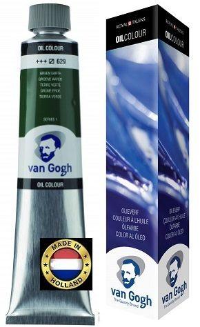 VAN GOGH OIL - Маслена боя 200 мл. - GREEN EARTH / 629