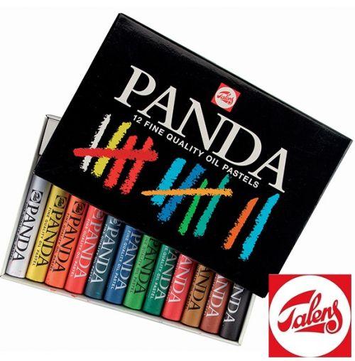 # PANDA OIL PASTELS 12 - Фини маслени пастели ПАНДА TALENS 12цв