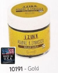 ALADINE EMBOSSING POWDER , USA - Фина ембосинг пудра 25ml GOLD