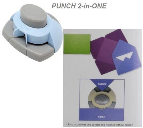 CORNER & NOTCHER PUNCH 2 WAY - Двустранен перфоратор за заобляне