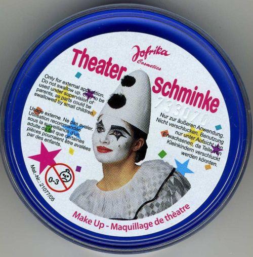 Jofrika - Germany, професионална грим - боя за лице и тяло 25гр. - СИНЬО