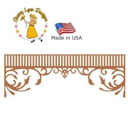 Cheery Lynn ,USA - Шаблон за рязане и ембос / b454