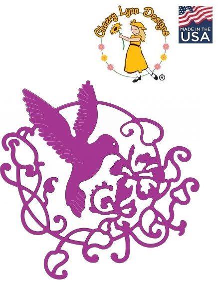 Cheery Lynn ,USA - Шаблон за рязане и ембос b192