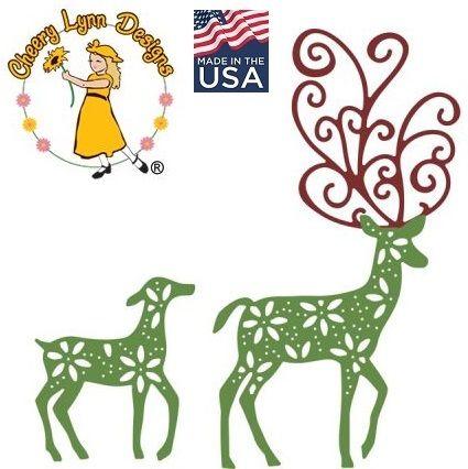 Cheery Lynn ,USA - Шаблон за рязане и ембос / b485
