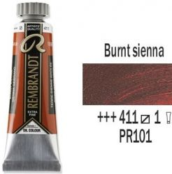 REMBRANDT Екстра Фини Маслени Бои 40 мл. -  Burnt Sienna 1, № 411