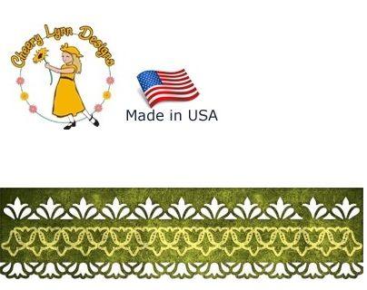 DIE by Cheery Lynn USA - Шаблони за рязане и ембос / b522