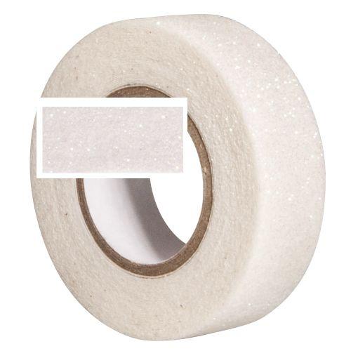 RAYHER GLITTER  tape - Брокатно тиксо  15мм х 5м WHITE