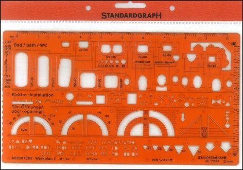 STANDARDGRAPH ARCHITECTS BATH / WC 1:50 , model 7300
