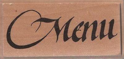 ALADINE STAMP C - Гумен печат на дървено блокче 00832