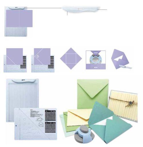 ARTEMIO CARD & ENVELOPE MAKER  - Уред за картички и пликове + пънч