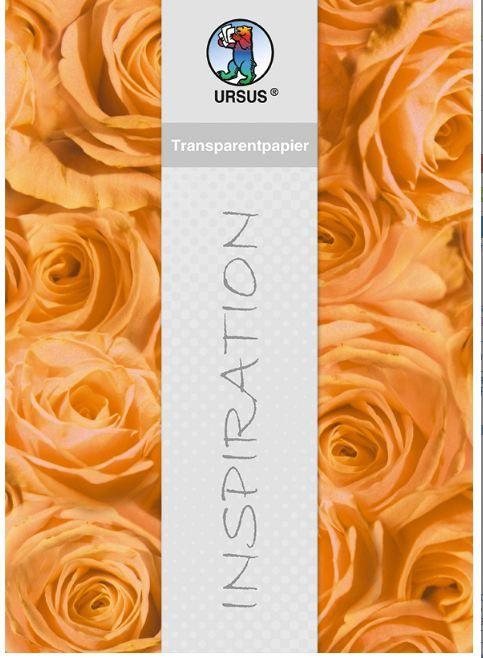 Ursus, Germany - Фигурален цветен паус 115 гр. - А4 - Рози