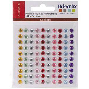 Artemio Gemstones - Елементи  СЗЛ - 6mm. 100 бр.