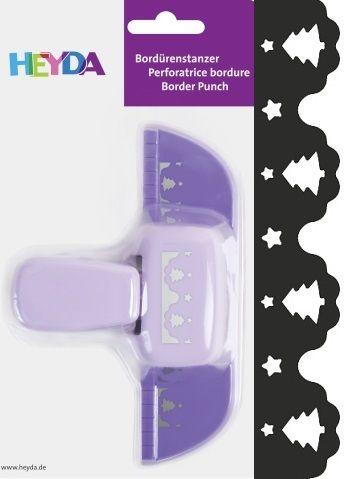 Border Punch HEYDA - Дизайн бордюрен пънч TREES