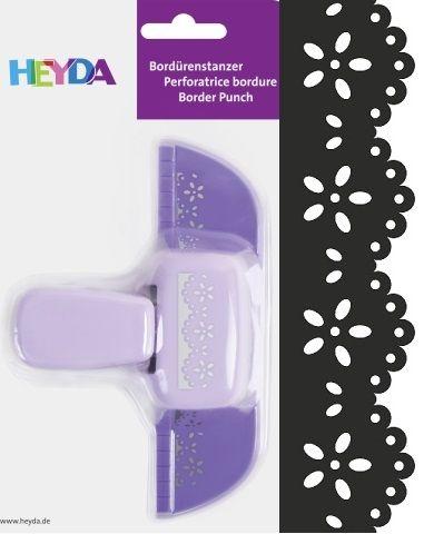 Border Punch HEYDA - Дизайн бордюрен пънч BLOSSOM