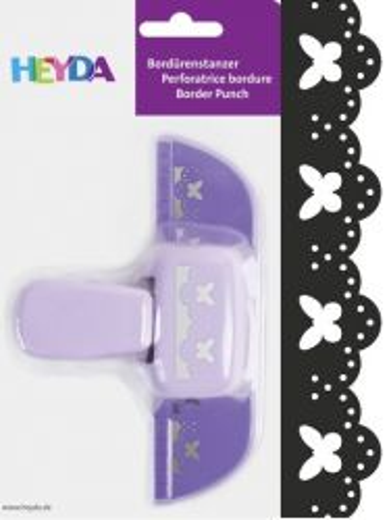 Border Punch HEYDA - Дизайн бордюрен пънч BUTTERFLY