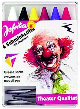 Jofrika MAQUIAGE Germany - Комплект пастели за лице 6 цв. + острилка