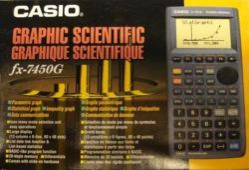 CASIO  fx-7450g - Научен  графичен калкулатор