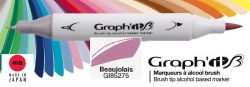 # GRAPH IT BRUSH MARKER - Двувърх дизайн маркери ЧЕТКА - BEAUJOLAIS