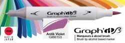 # GRAPH IT BRUSH MARKER - Двувърх дизайн маркери ЧЕТКА - ANTIK VIOLET