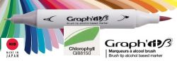 # GRAPH IT BRUSH MARKER - Двувърх дизайн маркери ЧЕТКА - CHLOROPHYLL
