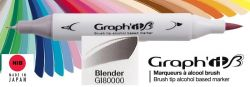 # GRAPH IT BRUSH MARKER - Двувърх дизайн маркери ЧЕТКА - BLENDER