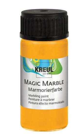 Magic Marble - Боя за мраморен ефект 20мл. - Слънчева жълта