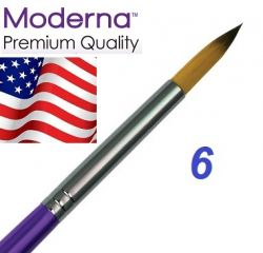 MODERNA BRUSH  Round, USA - Профи  четка за различни техники № 6