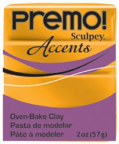 `PREMO Accents` USA - Професионална серия полимерна глина -  Gold, 2oz