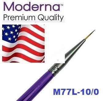 MODERNA BRUSH Liner, USA - Профи `лайнер` четка за различни техники 10/0 / №000