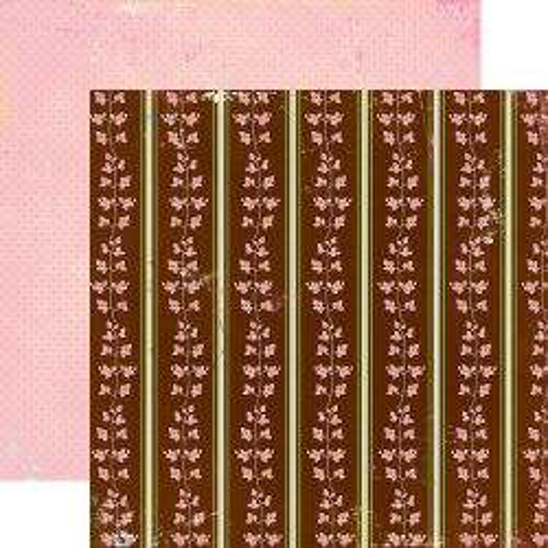AUTHENTIQUE USA #  DELIGHT - Дизайнерски скрапбукинг картон 30,5 х 30,5 см.