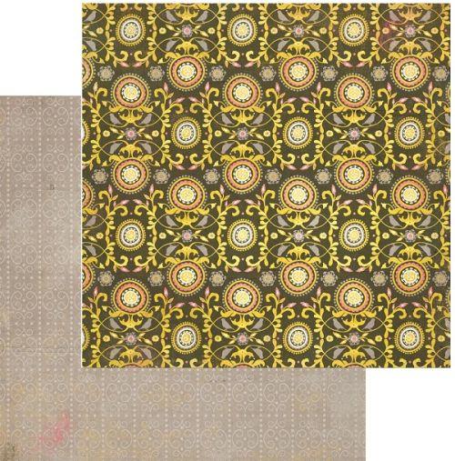 AUTHENTIQUE USA #  EUPHORIA - Дизайнерски скрапбукинг картон 30,5 х 30,5 см.