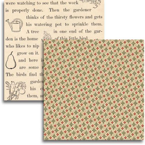 JENNI BOWLIN USA # HEVEN   - Дизайнерски скрапбукинг картон 30,5 х 30,5 см.