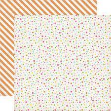 ECHO PARK USA # BIRTHDAY WISHES - Дизайнерски двустранен скрапбукинг картон 30,5 х 30,5 см.