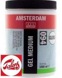 Amsterdam GEL MEDIUM GLOSS , Talens - ГЕЛ МЕДИУМ ГЛАНЦ  1000мл