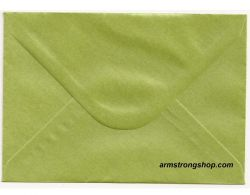 CENTURA ENVELOPES C6 England - Перлени пликове 114 X 162 мм. PISTACHIO