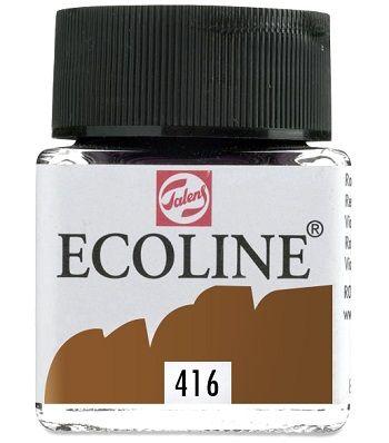 TALENS ECOLINE 30ml - Течен акварел SEPIA 416