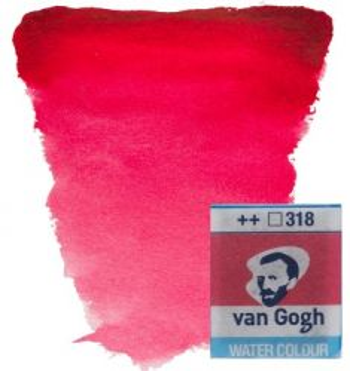 VAN GOGH WATERCOLOUR PAN - Екстра фин акварел `кубче` # Carmine 318
