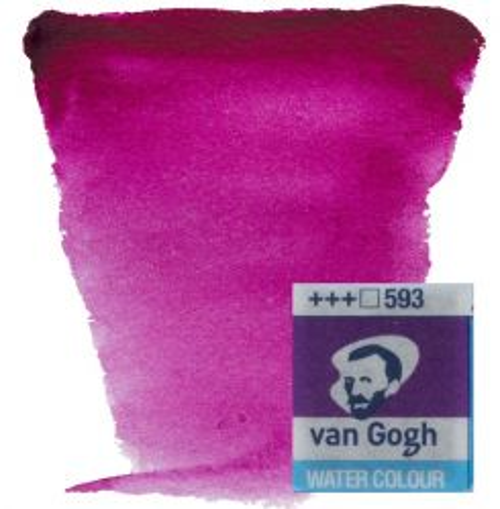 VAN GOGH WATERCOLOUR PAN - Екстра фин акварел `кубче` # China Purple Blue 593