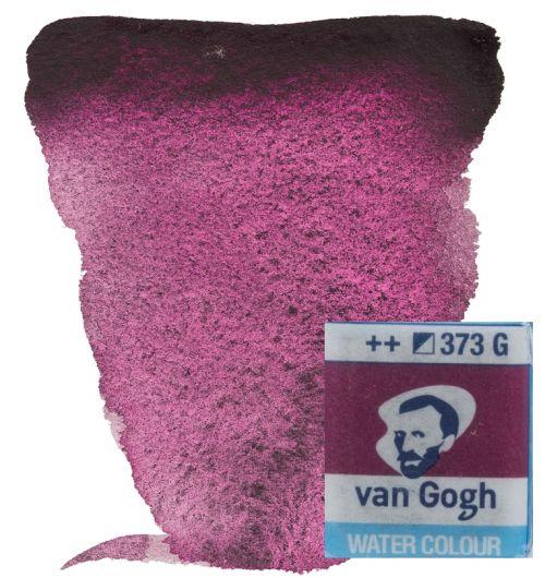 VAN GOGH WATERCOLOUR PAN - Екстра фин акварел `кубче` # Dusk Pink 373 G